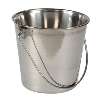 Two-Quart Small Stainless Steel Pail