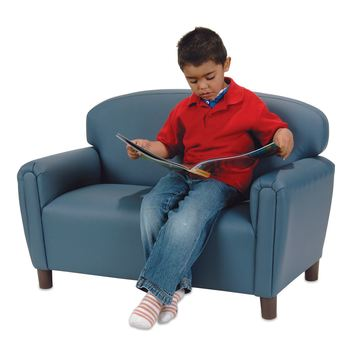 Child-Size Sofa - Blue