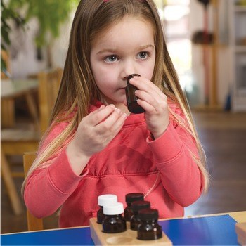 Smelling Bottles & Trays