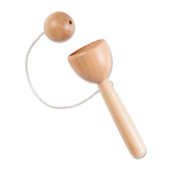 Wooden Cup & Ball Toss