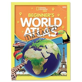 SLIGHTLY DAMAGED Beginner's World Atlas