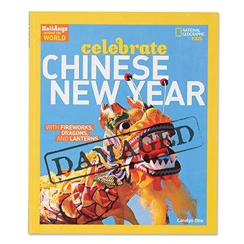SLIGHTLY DAMAGED Celebrate Chinese New Year