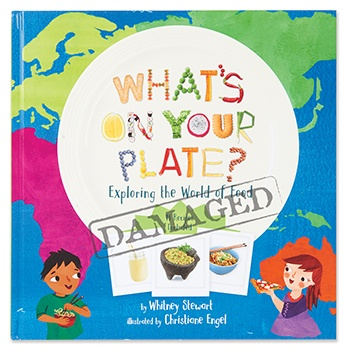 SLIGHTLY DAMAGED What's On Your Plate?